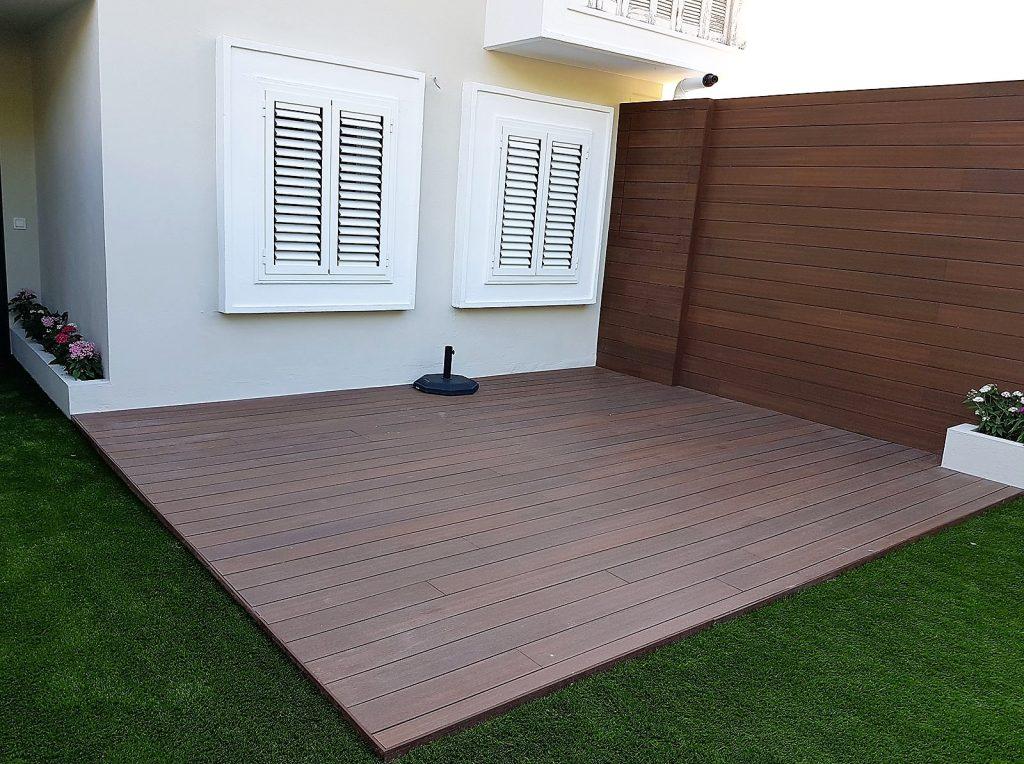 Reforma integral de terraza en Santa Bárbara
