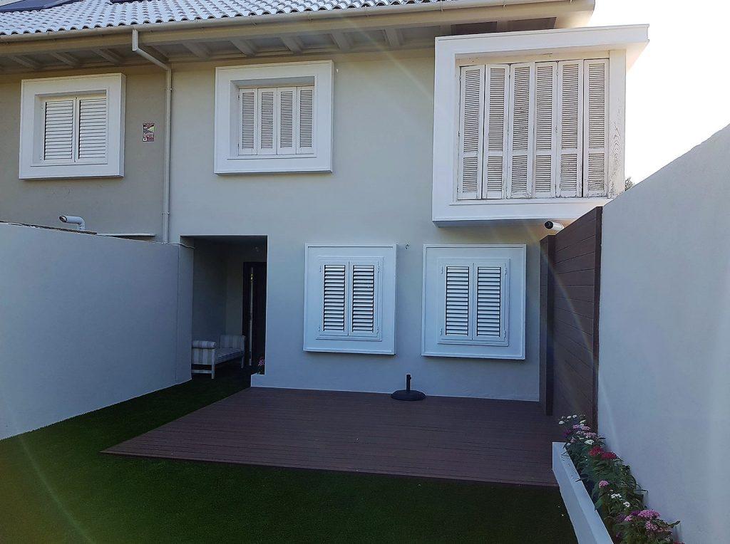 Reforma integral del patio de la vivienda unifamiliar en rocafort