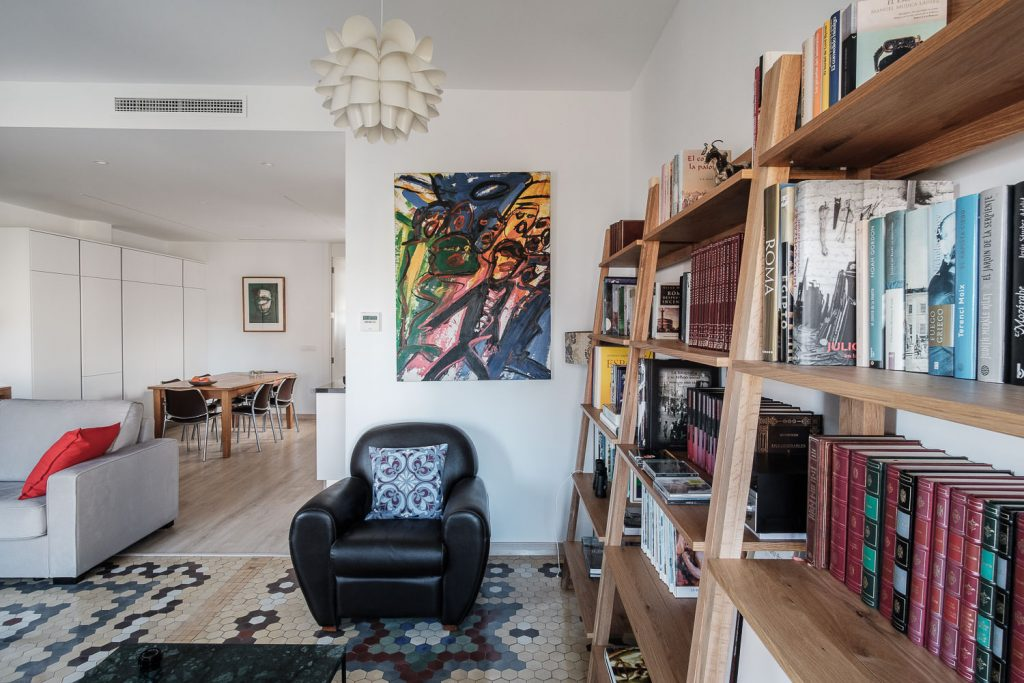 Rincón de la sala de estar